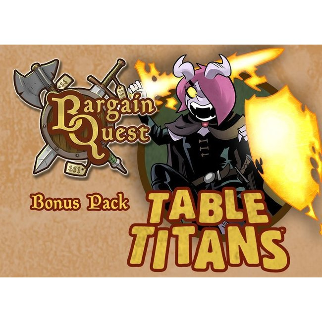 Renegade Game Studios Bargain Quest Bonus Pack Table Titans