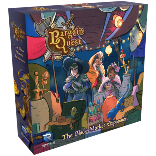 Renegade Game Studios Bargain Quest: Black Market Expansion