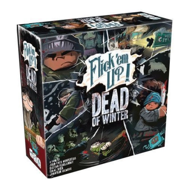 Pretzel Games Flick'em Up!: Dead of Winter