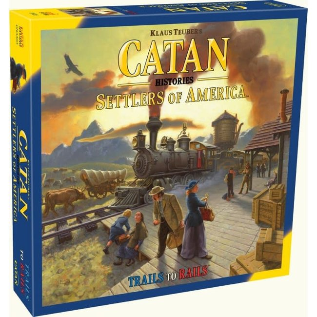 Catan Studios Catan Histories: Settlers of America - Trails To Rails