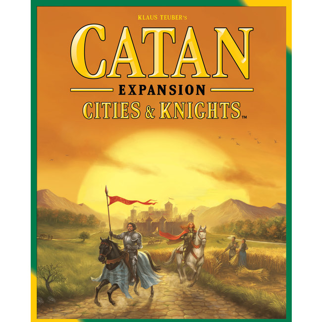 Catan Studios Catan: Cities & Knights Expansion
