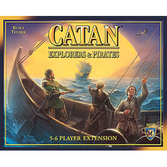 Catan Studios Catan: Explorers & Pirates 5-6 Player Extension