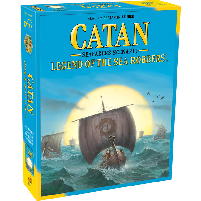 Catan Studios Catan: Seafarers Scenario - Legend of the Sea Robber