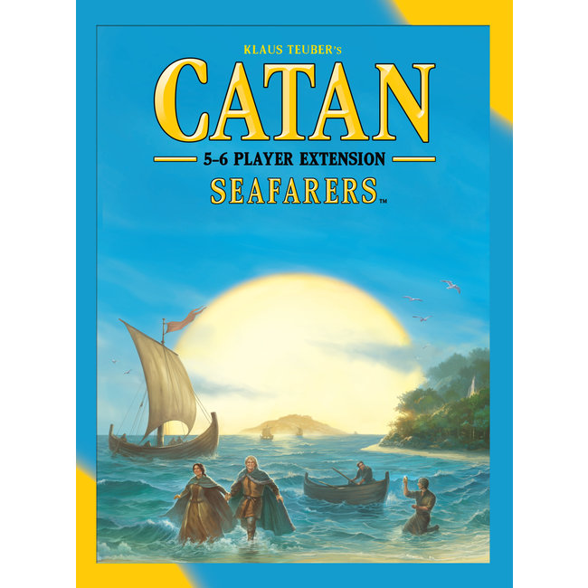 Catan Studios Catan: Seafarers 5-6 Player Extension