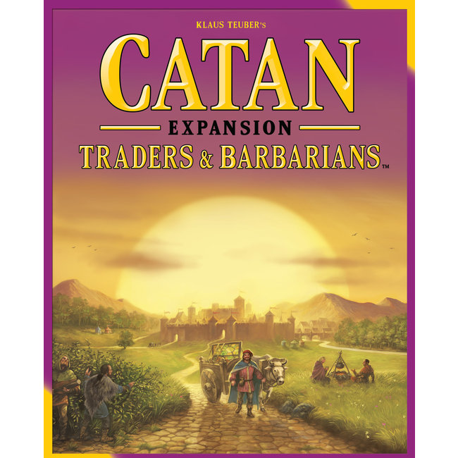 Catan Studios Catan: Traders & Barbarians Expansion