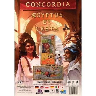 Rio Grande Games Concordia Aegyptus Creta