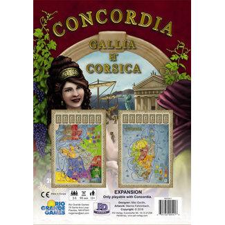 Rio Grande Games Concordia Gallia Corsica