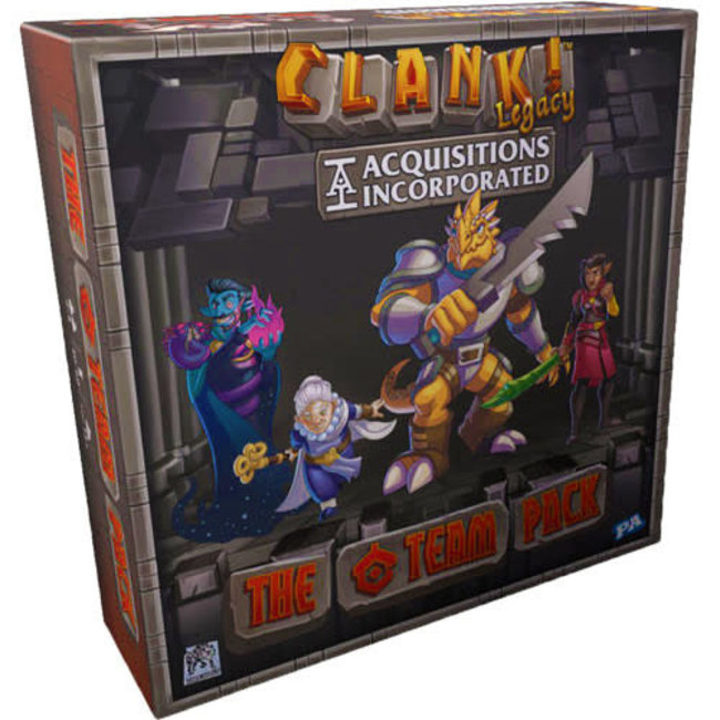 Renegade Game Studios Clank! Legacy Acquisitions Incorporated C Team Pack