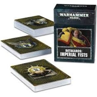 Warhammer 40,000 40k Imperial Fists Datacards