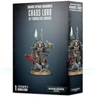 Warhammer 40,000 40k Chaos Lord in Terminator Armour