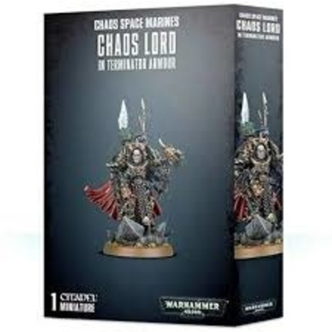 40k Chaos Lord in Terminator Armour