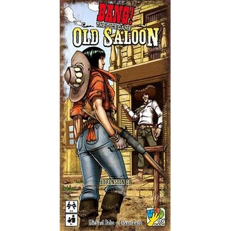 DV GIOCHI Bang! Dice Game: Old Saloon