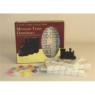 Worldwise Imports Mexican Key Train Dominoes