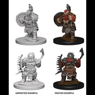 WizKids Dwarf Barbarian Male