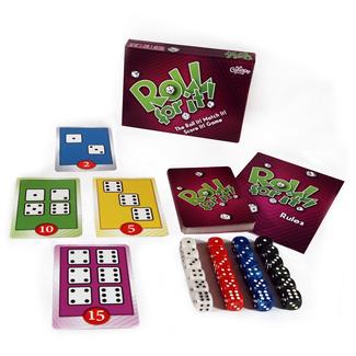 Calliope Games Roll For It! Purple Edition