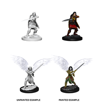 WizKids Aasimar Fighter Female