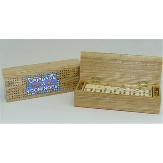 Cribbage and Dominoes Set