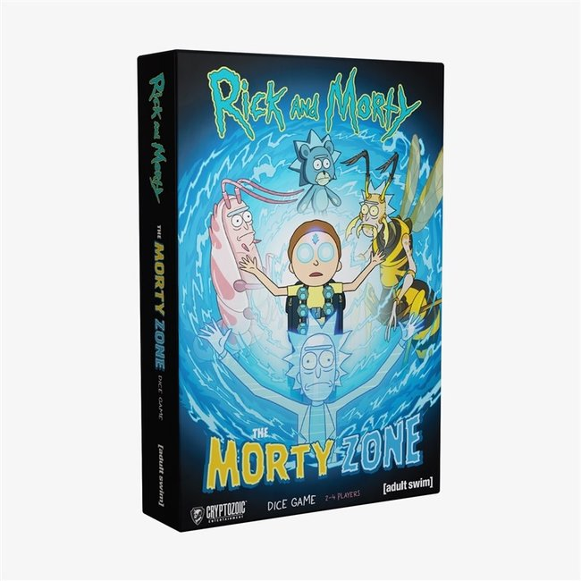 Cryptozoic Entertainment Rick and Morty: Morty Zone Dice Game