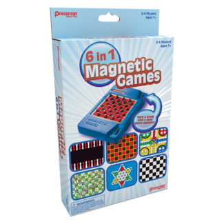 Pressman 6-in-1 Magentic Games
