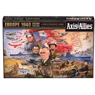 Avalon Hill Axis & Allies Europe 1940 2nd