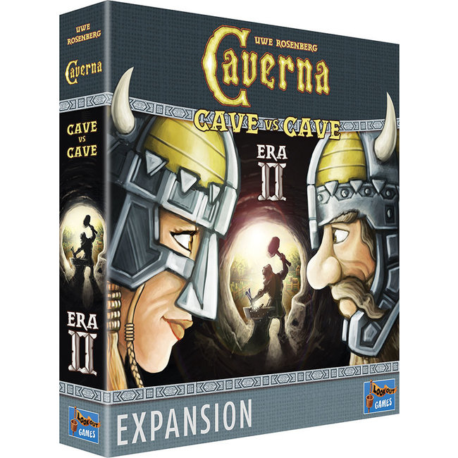 Lookout Games Caverna: Cave vs Cave - Era II Iron Age Expansion