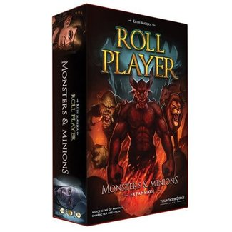 Thunderwork Games Roll Player: Monsters & Minions Expansion