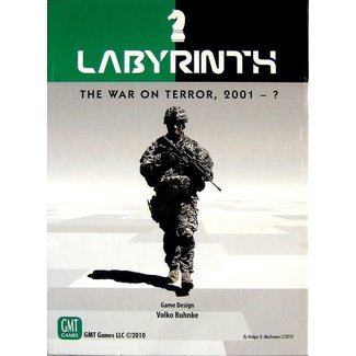 GMT Games Labyrinth The War on Terror