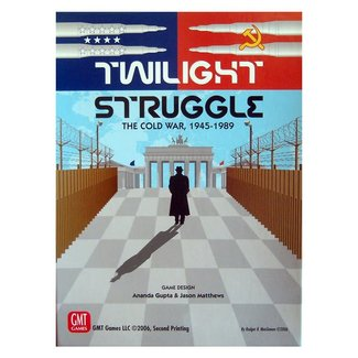 GMT Games Twilight Struggle: The Cold War, 1945-1989 Deluxe Edition
