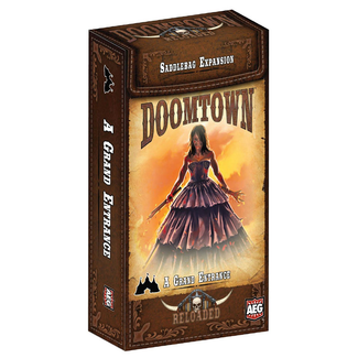 Alderac Entertainment Group (AEG) Doomtown: A Grand Entrance Saddlebag