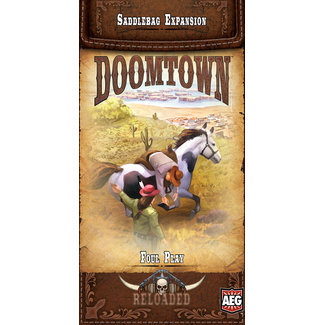 Alderac Entertainment Group (AEG) Doomtown: Foul Play Saddlebag