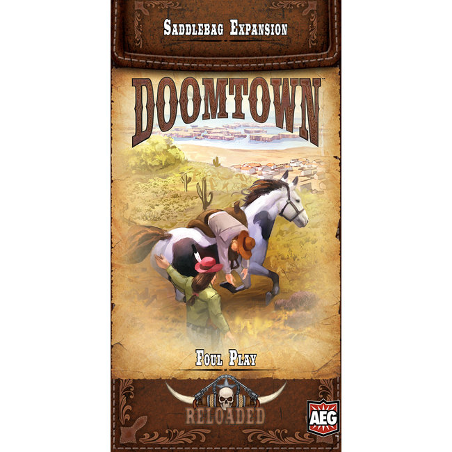Doomtown: Foul Play Saddlebag