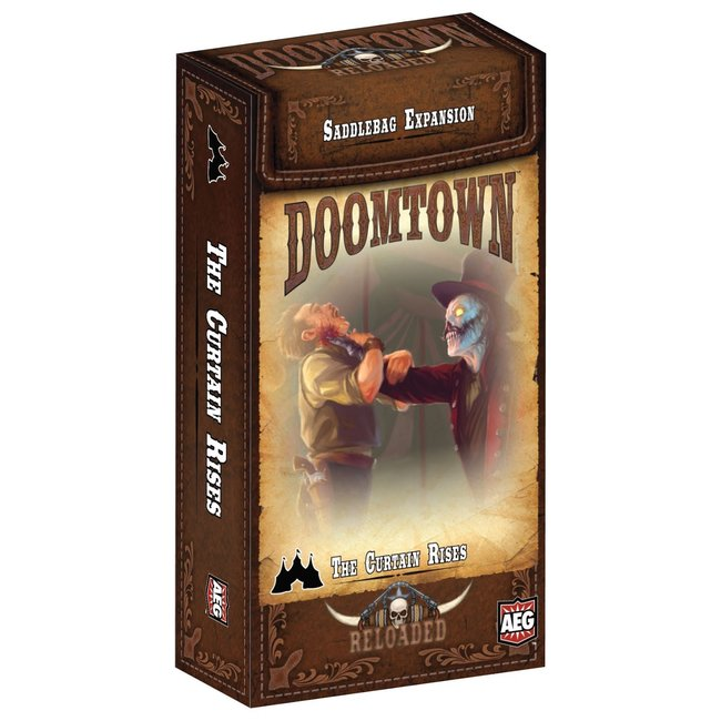Alderac Entertainment Group (AEG) Doomtown: The Curtain Rises Saddlebag