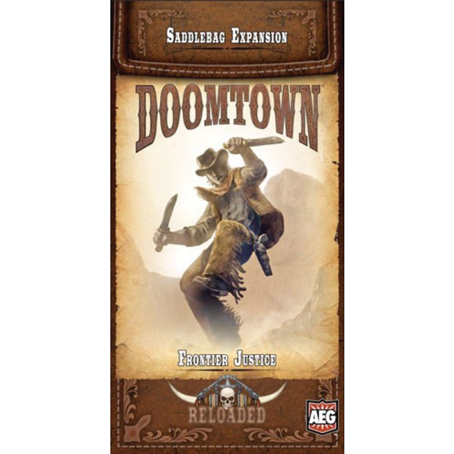 Alderac Entertainment Group (AEG) Doomtown: Frontier Justice Saddlebag