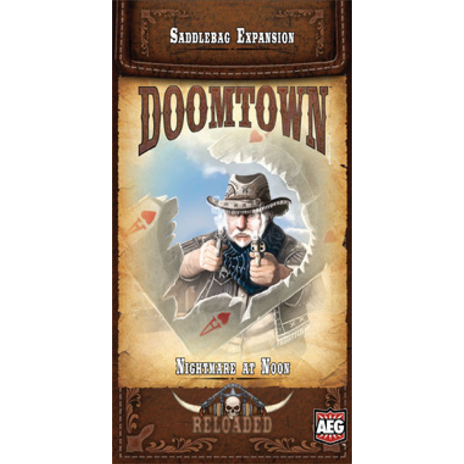 Alderac Entertainment Group (AEG) Doomtown: Nightmare at Noon Saddlebag