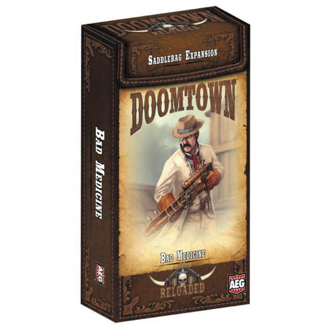 Alderac Entertainment Group (AEG) Doomtown: Bad Medicine Saddlebag