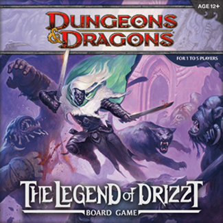 Wizards of the Coast D&D Legend of Drizzt