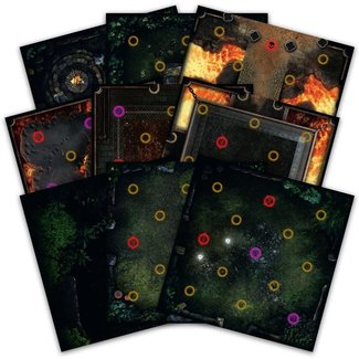 Steamforged Games Dark Souls: Darkroot Basin and Iron Keep Tile Set