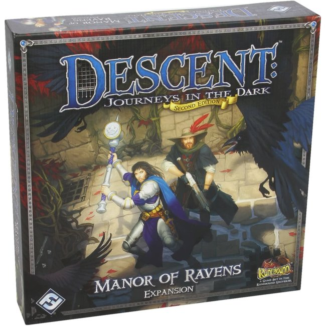 Fantasy Flight Games Descent: Journeys in the Dark - Manor of Ravens Expansion