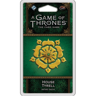 Fantasy Flight Games 8.5 A Game of Thrones: The Card Game (Second Edition) – House Tyrell Intro Deck
