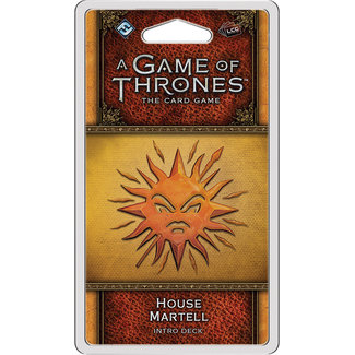 Fantasy Flight Games A Game of Thrones: The Card Game (Second Edition) – House Martell Intro Deck