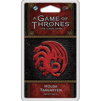 Fantasy Flight Games A Game of Thrones: The Card Game (Second Edition) – House Targaryen Intro Deck