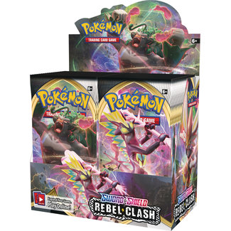 Pokemon Sword & Shield Rebel Clash Booster Box (36 packs) SS2 - Pokemon