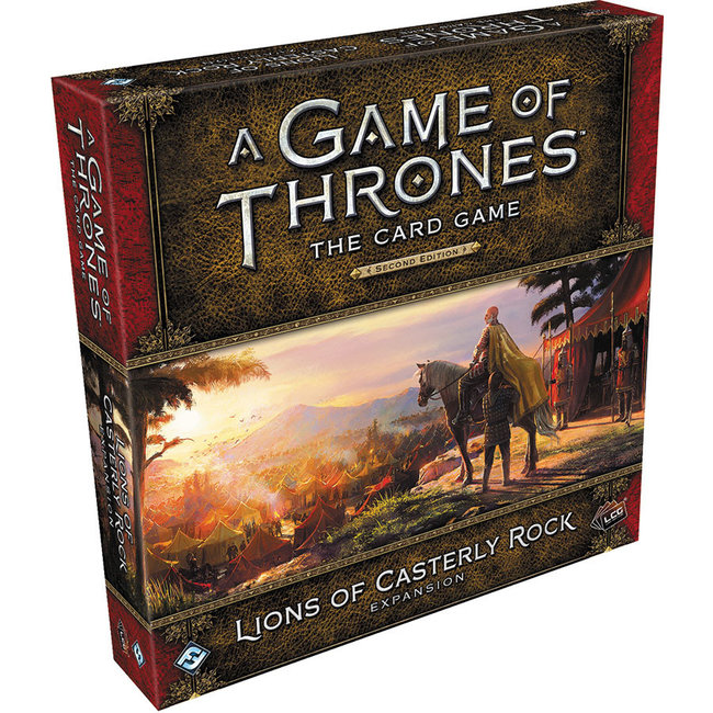 Fantasy Flight Games A Game of Thrones: The Card Game (Second Edition) – Lions of Casterly Rock