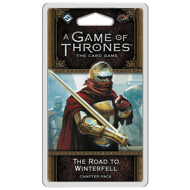 Fantasy Flight Games A Game of Thrones: The Card Game (Second Edition) – The Road to Winterfell