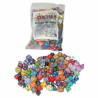 Chessex Pound-O-Dice: Assorted Shapes