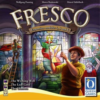 Queen Games Fresco: Expansion Modules 4, 5, & 6