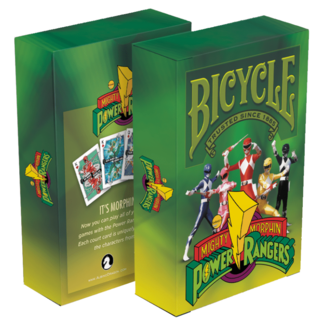 Albino Dragon Bicycle Playing Cards - Power Rangers