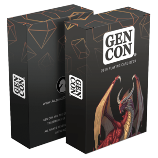 Albino Dragon Playing Cards - Gen Con 2019