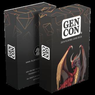 Albino Dragon Playing Cards - Gen Con 2019