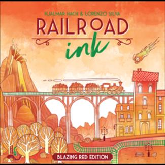Horrible Guild Game Studio Railroad Ink: Blazing Red